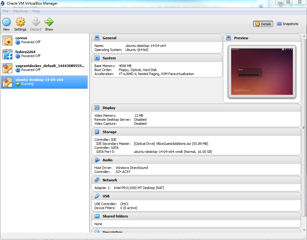 Howto create VirtualBox Vagrant Development Linux with